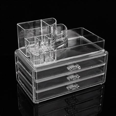 clear makeup drawers nz 1pcs makeup cosmetic organizer clear acrylic drawers