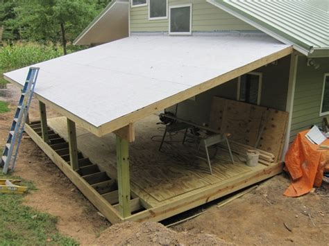 Waterproofing A Shed Roof by Brainright Shed Addition