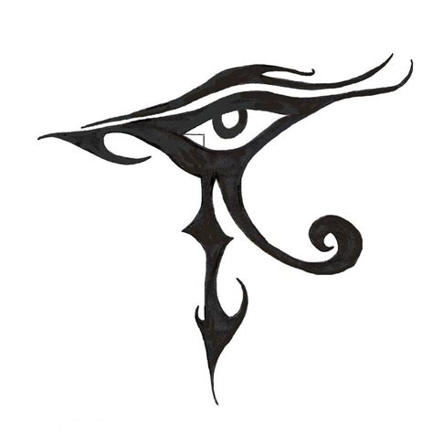 unique tribal tattoo designs horus eye images designs