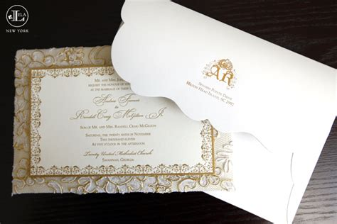 Luxury Wedding Invitations by New York Luxury Wedding Invitations