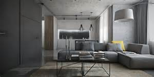 Grey Interior Design by Dark Themed Interiors Using Grey Effectively For Interior