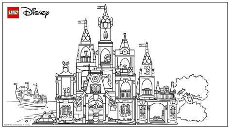 coloring pages lego castle lego castle coloring pages