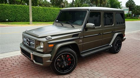 g wagon 2017 2017 used mercedes g class v12 turbo matte