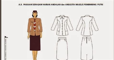 Dasi Garis Silver 3 8cm pakaian seragam harian pramuka andalan dan majelis