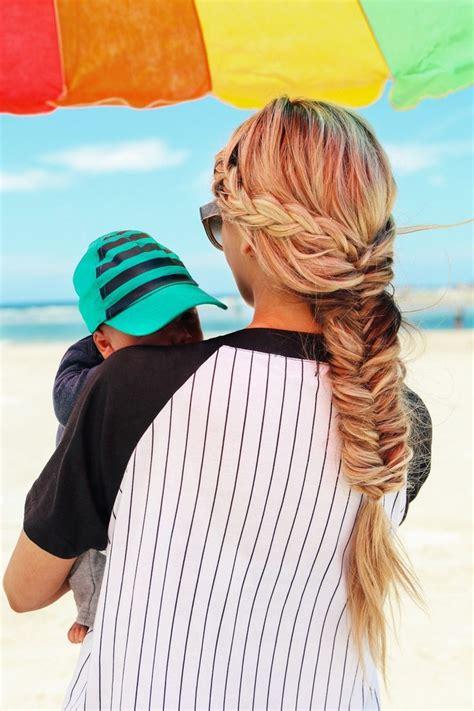 remy human hair bulk for braiding bleach blonde human hair extensions lovely fishtail braid