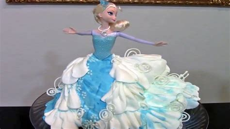 frozen elsa cake cake decorating doovi