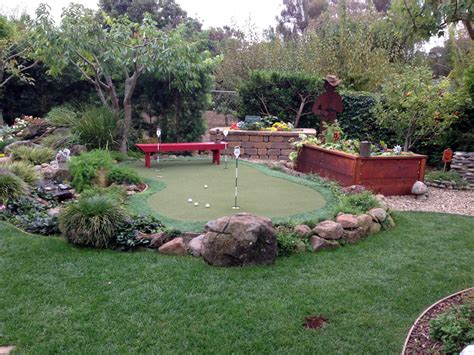 installing a putting green in your backyard grass installation the woodlands texas outdoor putting