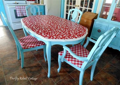 Decoupage Kitchen Table - 10 unique ways to decoupage a table