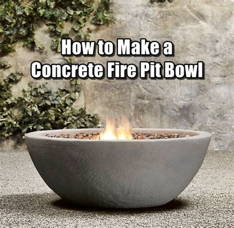 how to make concrete pit how to make a concrete pit bowl shtf prepping central