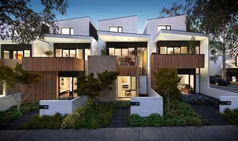 5 Bedroom Townhouse Floor Plans by Medium Density Projects