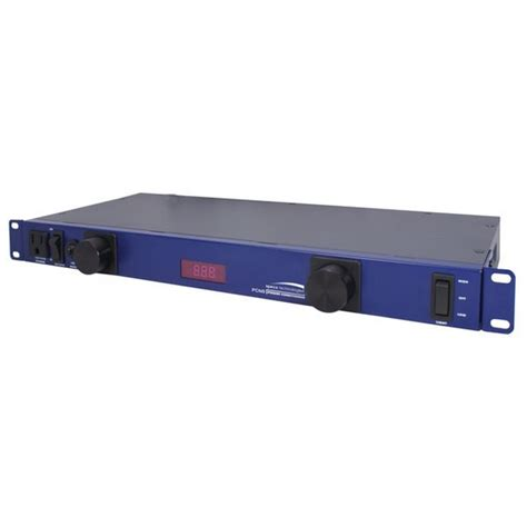 Rack Mount Power Conditioner by Speco Pcn8 Rack Mount Power Conditioner
