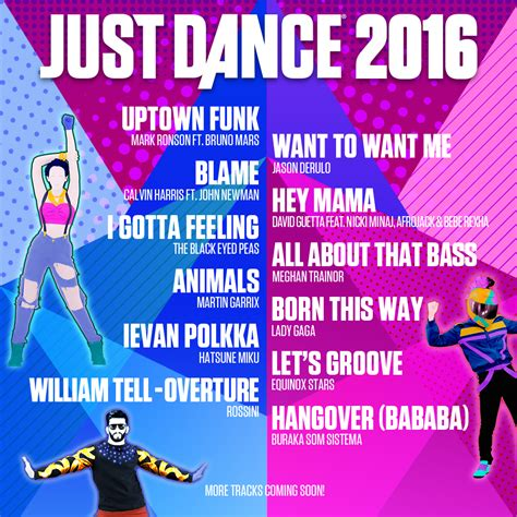 2016 top dance songs ubisoft just dance 2016