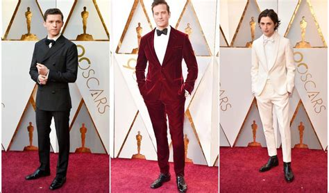 a fashion experts guide to the oscars red carpet video oscars 2018 best dressed men