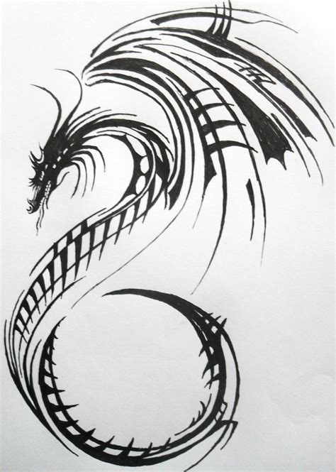 dragon tattoo design by lacrimosa jem on deviantart