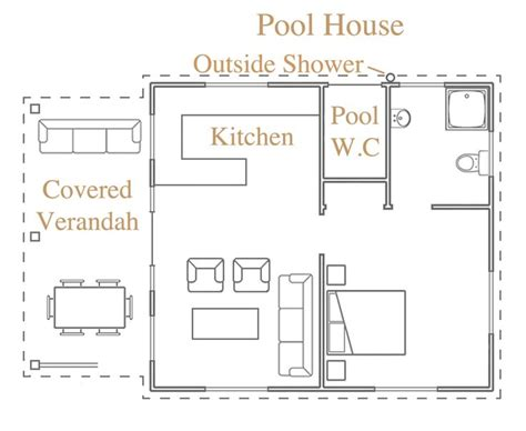 pool cabana floor plans 17 best ideas about pool house bathroom on pinterest