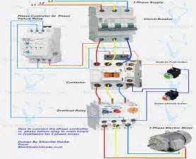 3 phase wiring diagram for air compressor electrical and