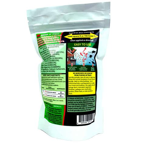natures defense mouse  rat repellent organic