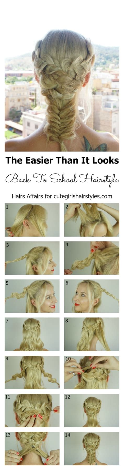hairstyles for easy back to school easy back to school hairstyle hairstyles