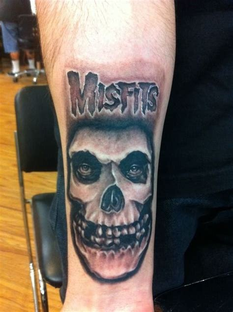 misfits tattoo designs did another misfits this one is for all the fiends