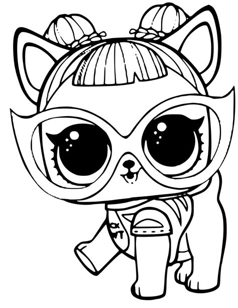 Coloring Page Lol by Lol Pet Coloring Pictures To Pin On Pinsdaddy