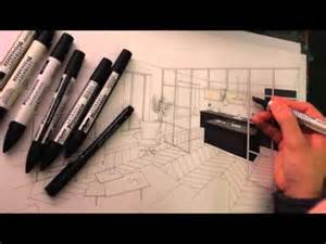 dessin perspective architecture int 233 rieure