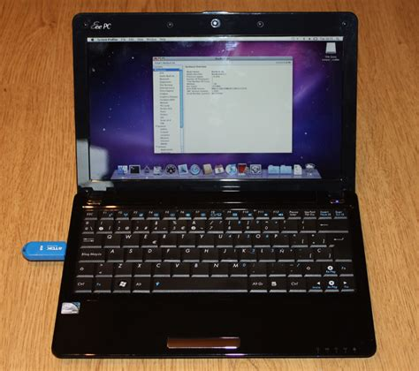 Laptop Asus Plus Os installation of mac os x snow leopard on the asus eee pc 1101ha 1201ha 171 page 1 171 notes