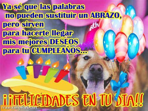 imagenes graciosas de cumpleaños con perros felicitaciones de cumplea 241 os con perrito en una fiesta