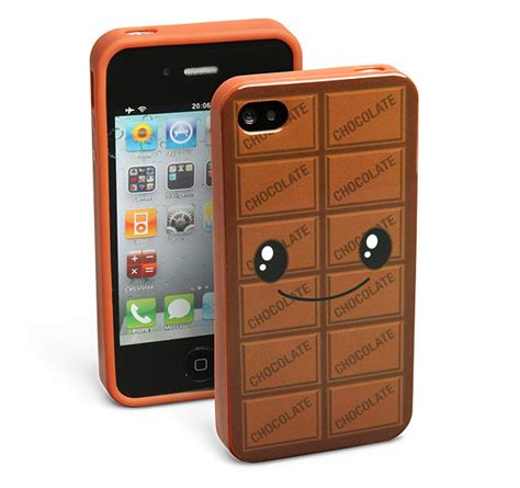 chocolate scented iphone case craziest gadgets
