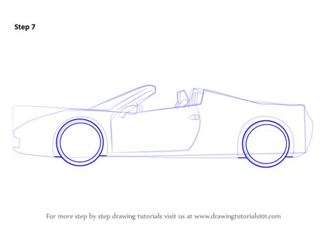 how to draw a sports car step by step drawingforall net learn how to draw a sports cars step by step