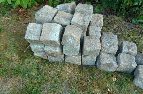 granit granitstein granitpflaster randsteine gebraucht in