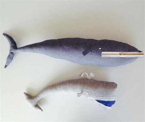 Hem Whale stuffed whale tutorial sewtorial