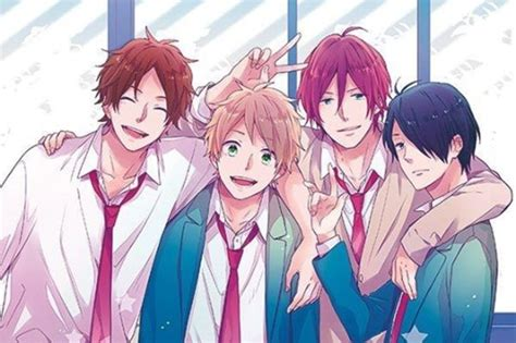 tokoh anime yang ikemen yuk simak persahabatan 4 ikemen yang berwarna di live