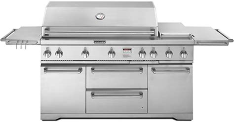Kitchenaid Outdoor Grill 36 Stainless Steel Gas Grills By Kitchenaid