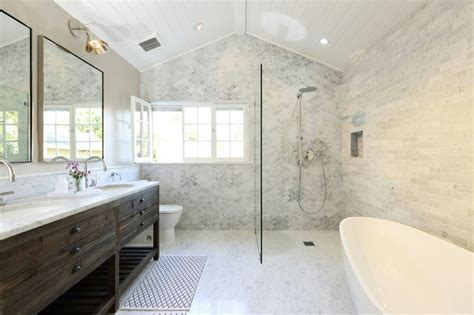 bathroom design los angeles l a master bathroom remodel transitional bathroom los angeles by lindsay chambers design