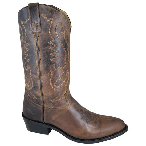 wide mens cowboy boots smoky mountain boots s 4435 denver 12 quot leather cowboy