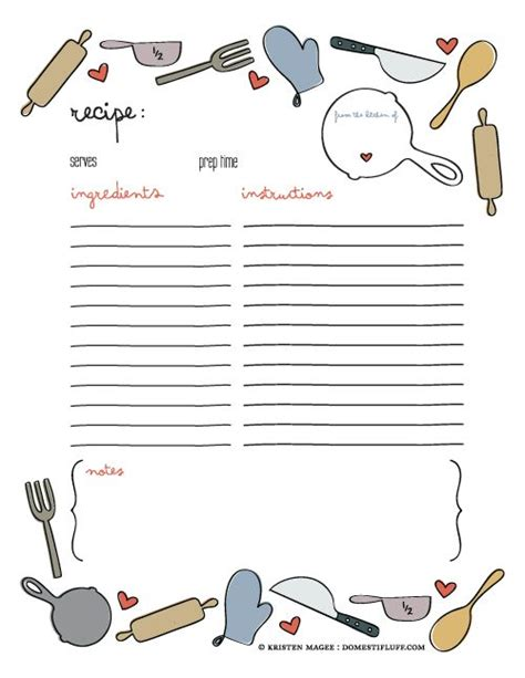 baking cards templates 25 best ideas about recipe templates on