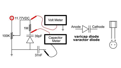 varactor diode features varactor diode electrical characteristics 28 images 100pcs fv1043 glass sealed varactor