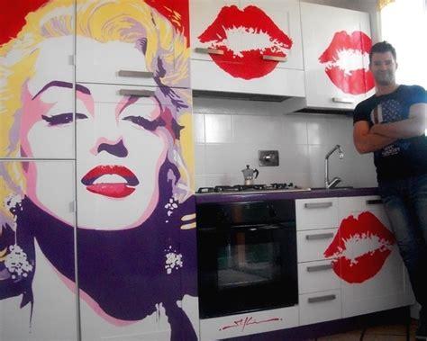 Marilyn Decor by Pop Kitchen Marilyn Modern Kitchen Other Metro By Marco Kooiman