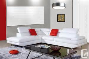 Modern Sofas On Sale Contemporary Modern Sectional Leather Sofa On Sale Gta For Sale In Toronto Ontario