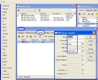cara membuat vpn di mikrotik rb750 cara setting vpn di mikrotik yang mudah dan lengkap