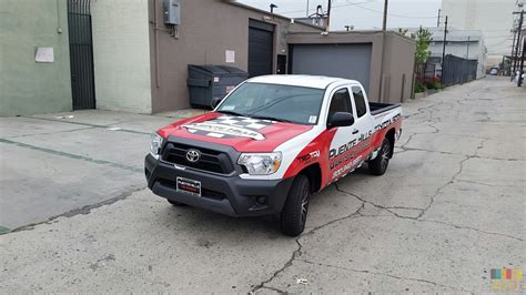 Toyota Scion Truck Toyota Scion Truck Wrap V9 Arete Digital Imaging