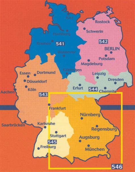 map south germany southwest germany map