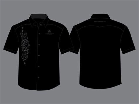 Pemutih Baju desain kemeja hitam indobeta