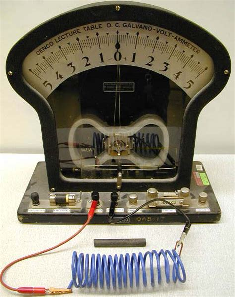 electromagnetic induction using galvanometer induction coil with magnet galvanometer