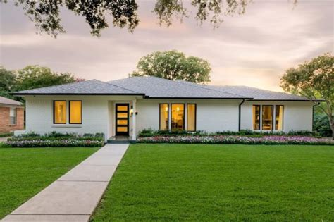 mid century ranch homes hot property remodeled mid century ranch in midway hollow