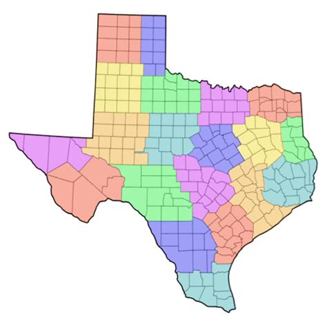 texas cities and counties map texas county map city county map regional city