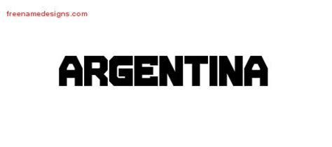 argentina archives free name designs