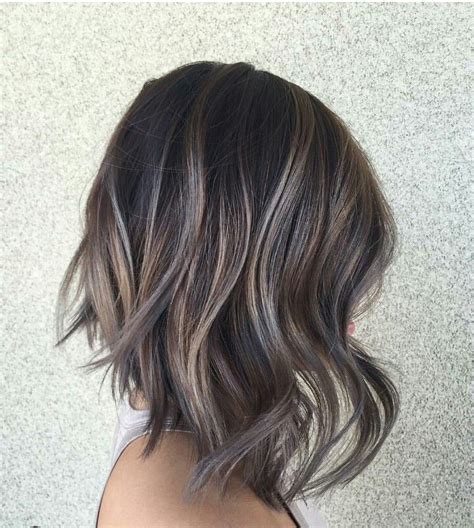 t section highlights for dark hair 30 balayage hair color ideas with blonde brown and