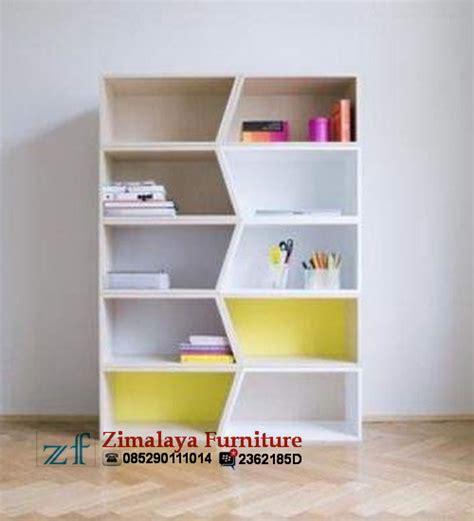 Rak Buku Partikel rak buku anak zimalaya furniture