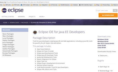 Java Tutorial Hub | download eclipse ee neon ououiouiouo